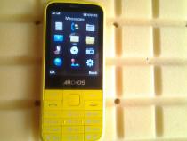 Telefon mobil, Archos F28, Dual Sim, Yellow
