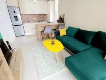 Bloc nou,curte privata, apartament 2 camere finisat modern