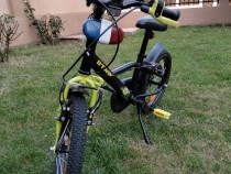 Bicicletă BTWIN copii 4-7 ani