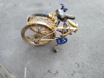 Bicicleta copii și adulți pliabilă.