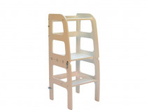 Turn de Invatare - Learning Tower Multifunctional - Alb
