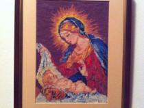 Goblen Maica Domnului cu Pruncul