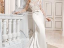 Rochie superba de mireasa din colectia de lux Demetrios
