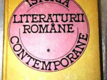 Istoria literaturii romane contemporane de eugen lovinescu