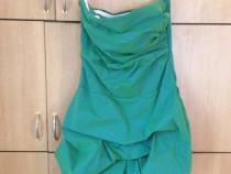 Rochie de seara verde-turcoaz