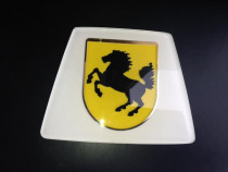 Emblema volan Ferrari dimensiuni 7/8,5 cm