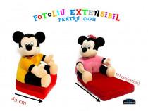 Fotolii extensibile pentru copii cu personaje