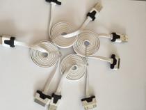 Cablu plat de Silicon pentru iPhone 4 4 s