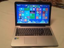 Laptop nou asus gaming intel core i7-,3,2 ghz, aluminiu