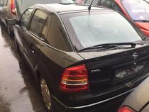 Usa stanga spate Opel Astra G hatchback verde inchis