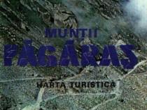 Munţii Făgăraş - harta turistică MT