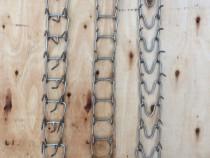 Zgarda cu tepi din inox de 4 mm pentru caini- 3 modele
