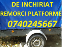 Remorca auto 750kg si Platforma sau Transport Orice