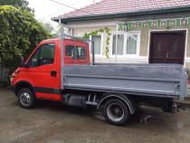Transport cu basculabila lemne, sorturi, nisip, moluz