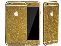 Folie Autoadeziva iPhone 6 iPhone 6s Fullset Gold Glitter