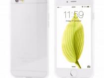 Husa silicon iphone 6 iphone 6s clear ultra slim produs nou