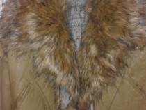 Jachetă de piele, nouă,firma Stradivarius