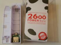 Power bank portabil cu acc. 18650 2600mAh