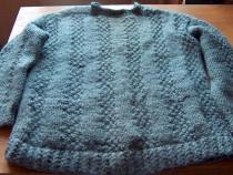 Pullover gros din lână, hand-made (R0)