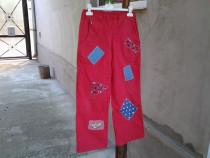 Fantasy Red / pantaloni copii 12 ani