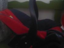 Scaun auto pentru copii tip scoica