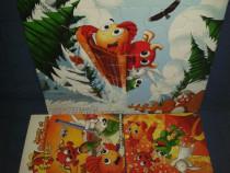 Mini set cadou copil puzzel şi carte de jocuri