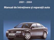 Manual reparatii limba romana Audi A4 benzina 2001-2004
