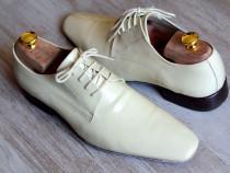 Pantofi Il Passo Piele Crem Mire Nr. 41