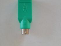 Adaptor mouse/ tastatura de la USB la PS2