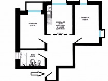 Apartament 3 camere 48+6mp intabulat la vila Cl Cisnadiei