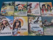Lot 8 cărţi copii*format mic : ilustraţii coca-creşoiu şeine