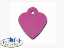 Medalion Inima Mica Pet Scribe Mov
