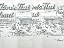 1864-I-Fabrica Bauturi Weisz Mores Fiai Arad 1900-Reclama.