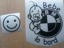 Stickere atentionare BEBE LA BORD - Stickere personalizate