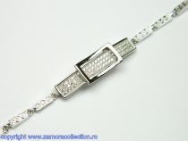 Bratara argint rodiat Model BR125921