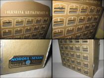 Nordia Sessam Berlin-Dulap banca 40 casete metal. Germania