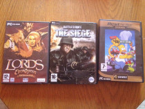 3 jocuri PC-ROM, Lords Everquest,The Siege,HIT&RUN