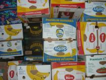 30 baxuri banane noi, cutii banane, cartoane banane