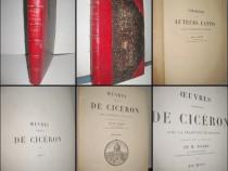 Carte veche M.Nisard-Oeuvres de Cicerone-6vol-1875 stare bun