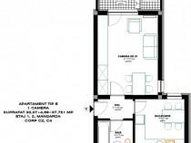 Apartament 1 camera, decomandat, bloc nou,Pacurari