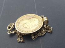 Moneda medalion 1893