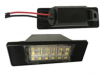 Lampa LED numar nissan, lampa led numar vw, lampa led audi