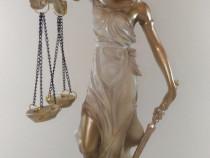 Statuie Zeita Justitiei Alba - Mica
