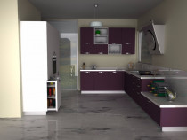 Program proiectare 3D  mobila bucatarie baie living