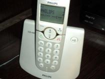 Telefon fara fir fix de casa marca philips (alb)-impecabil