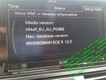 Audi update soft navigatie cd/dvd/sd-a4-a5-a6-a7-a8-q3-q5-q7