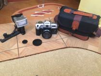 Aparat foto cu film Sony DL2000A + Bliț + Geantă transport