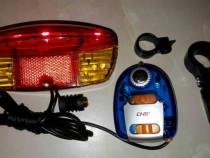 Kit alarma cu semnalizare pentru bicicleta