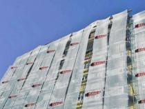 Plasa Protectie Constructii Alba Personalizata