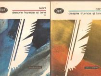 Kant-Despre frumos si bine 2 vol.